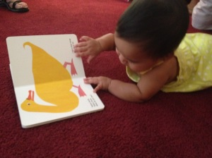 Already a talented reader!