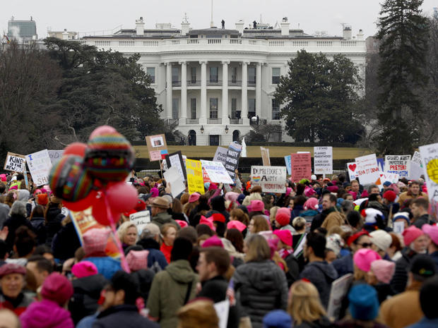 Thousands Attend Women's March On Washington